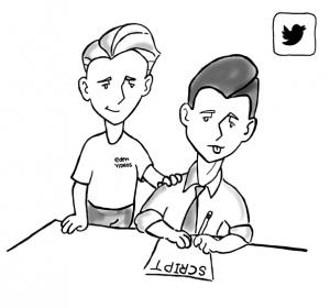 Tweetable Scriptwriting Tips