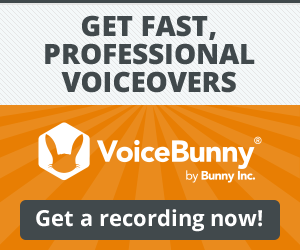 VoiceBunny Professional Voiceovers
