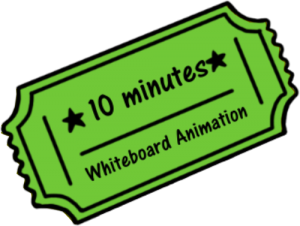 Whiteboard Animation Discount Voucher - 10 minutes