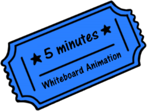 Whiteboard Animation Discount Voucher - 5 minutes